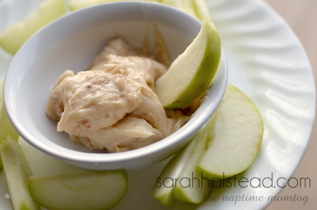 Heath Bits Apple Dip