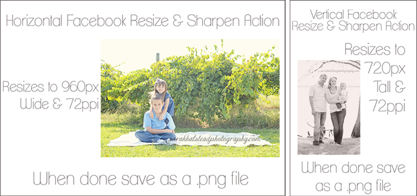 Resizing for Facebook